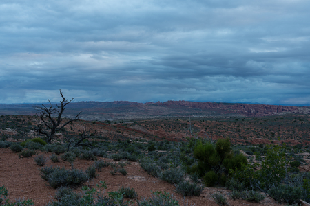 Arches National Park - Moab, Utah Stockfoto - 123908497
