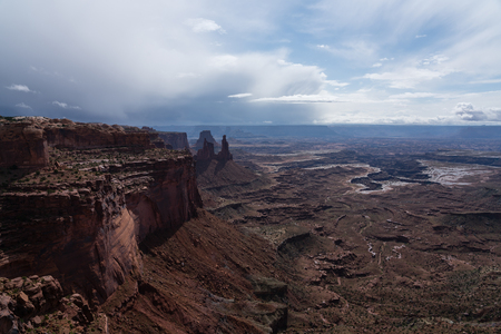 The Island In The Sky district of Canyonlands National Park, Moab, Utah. Stockfoto - 123908511