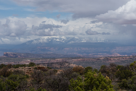 The Island In The Sky district of Canyonlands National Park, Moab, Utah.