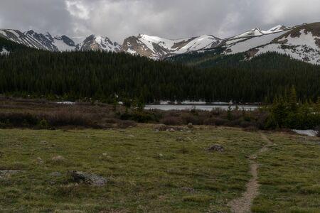 Hiking trail near Brainard Lake, Ward, Colorado.