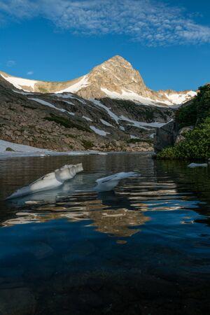 Blue Lake, Indian Peaks Wilderness.