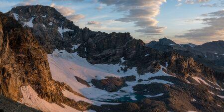 Arapaho Glacier, along the route to South Arapaho Peak.