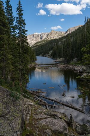 Along the East Inlet Trail, from Grand Lake, Colorado.