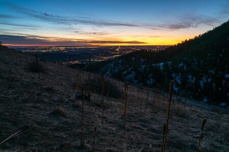 Early morning on Lookout Mountain.  Golden, Colorado.