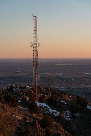 The view from the summit of Mount Morrison - Morrison, Colorado.