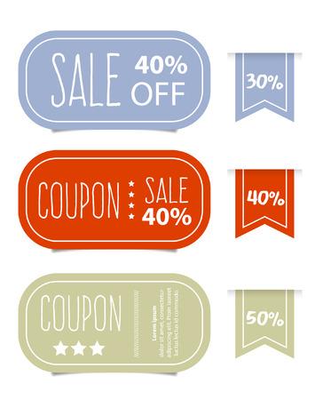 tag: Price tags design, vector illustration. Illustration