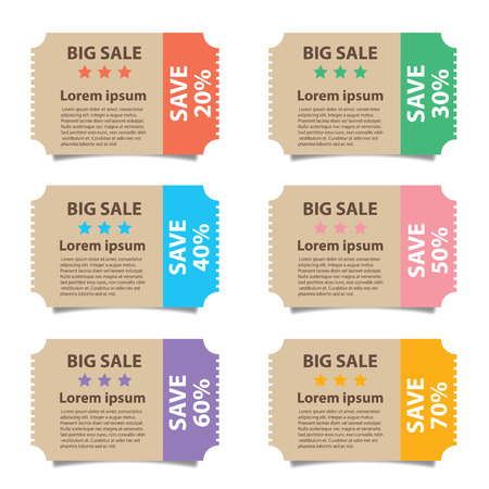 low prices: Price tags design, vector illustration. Illustration