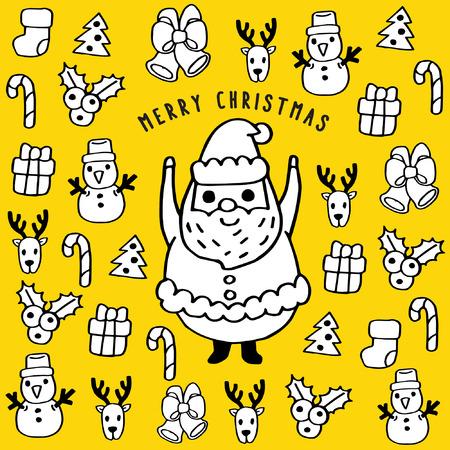 christmas: Merry Christmas Cartoon: Christmas Icons