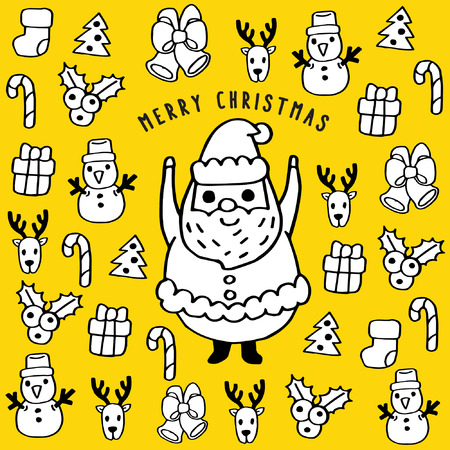 Merry Christmas Cartoon: Christmas Icons
