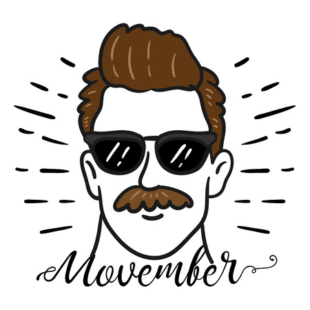 Movembers day Vector.
