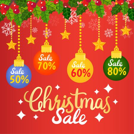 Christmas Sale Tags and Coupons. 免版税图像 - 112804895
