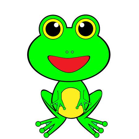 A Cute Looking Frog