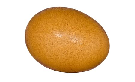 isolated fresh chicken egg Stock Photo