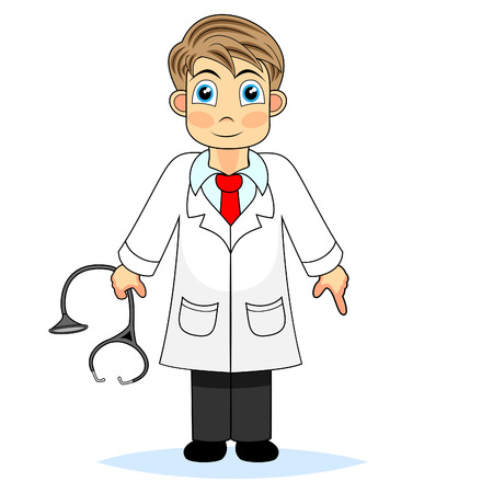Leuke jongen arts