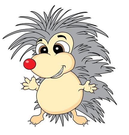 bristle: Cute hedgehog