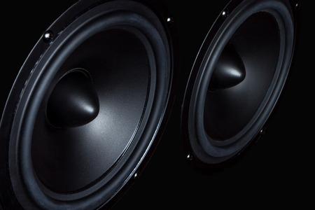 Dark speaker, loudspeaker, part of the music column