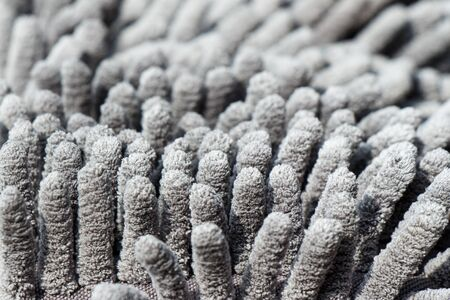 Microfiber texture with a soft large pile Banque d'images