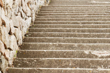 Old marching stairs with close-up. As a background. Imagens - 151581808