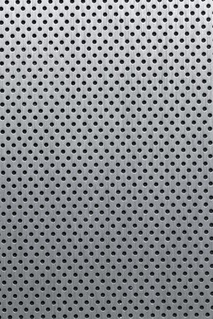 metalic texture: metal background with circles
