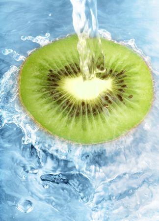 Fresh kiwi photo