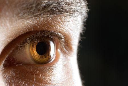 hypnotise: eye Stock Photo