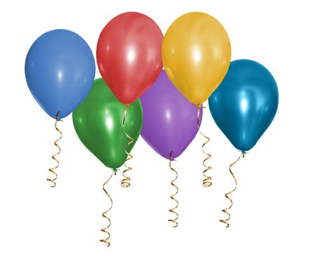 Beautiful Party Balloons Stock Photo - 5387479