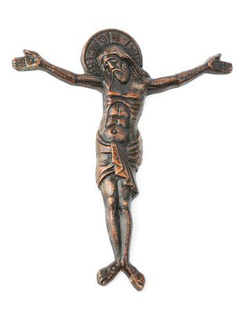 Gesù sulla croce Archivio Fotografico - 5387323