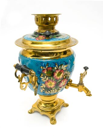 samovar - old russian teapot Stock Photo - 5387337