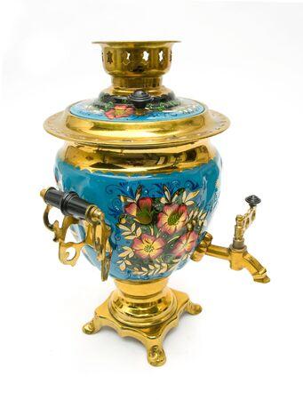 samovar - old russian teapot Stock Photo - 5387337