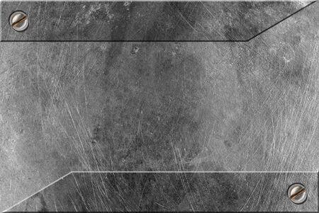 treadplate: metal frame