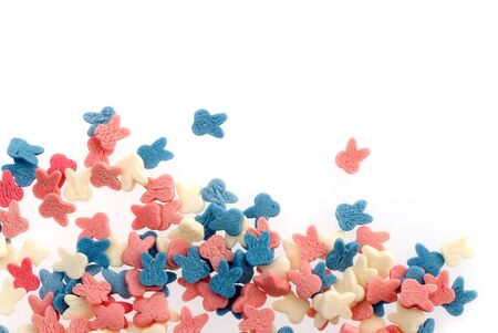 colorful sweets isolated on white background Stock Photo - 5947073