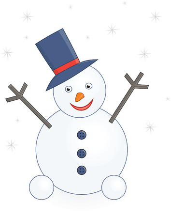 snowman Stock Vector - 6075247