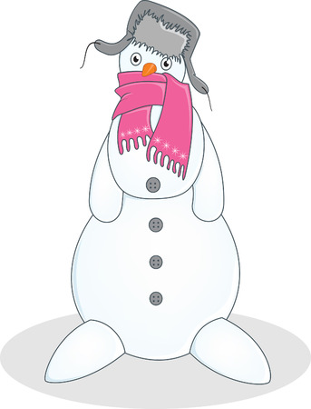 snowman Stock Vector - 6132499