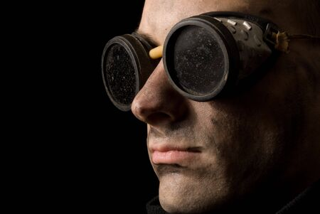 close-up portrait of a strange man Stock Photo - 6165201