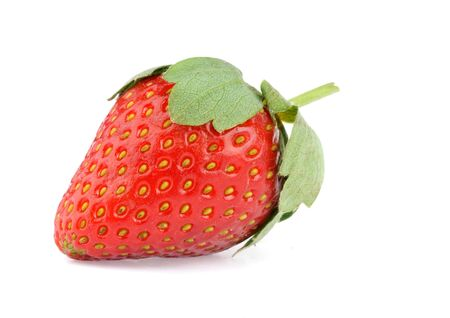 strawberry isolated  photo