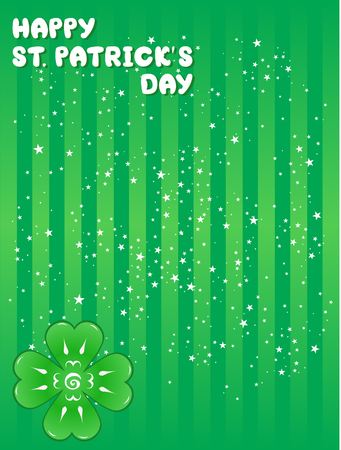 St. Patrick's Day greeting card Stock Vector - 6342972