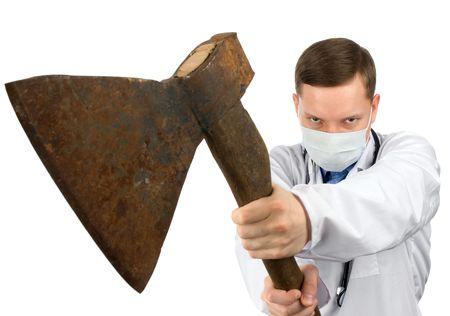 crazy man: Dr. murderer