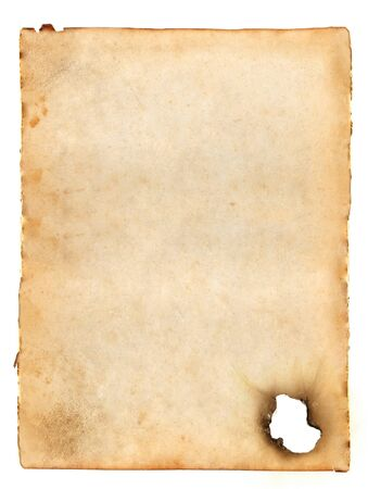 old blank paper Stock Photo - 6972092