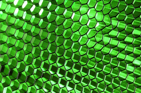 Glowing Honeycomb Structure  photo