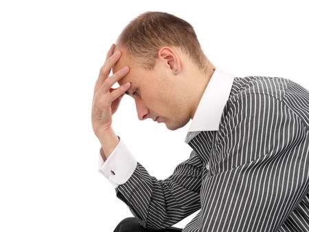 Man thinking about something Stock Photo - 8155226