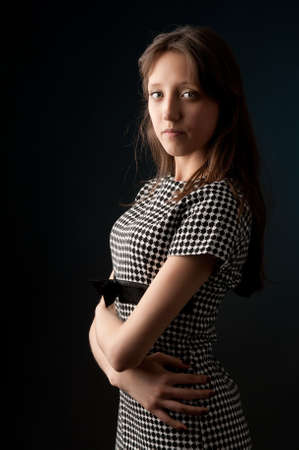 Portrait of a calm young woman Stock Photo - 9144559