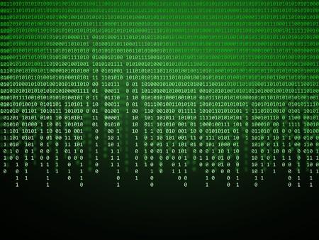 code computer: c�digo binario Foto de archivo