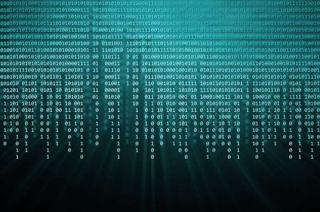 binaire code Stockfoto