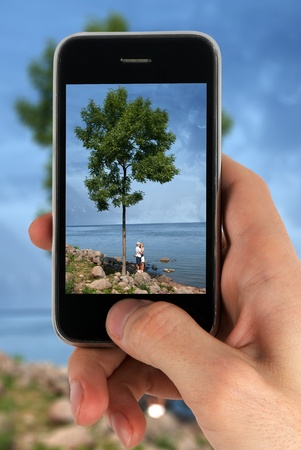 taking picture from camera cell phone