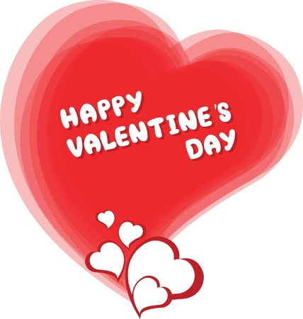 Valentine's Day card Stock Vector - 12116538