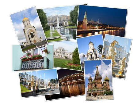 photos of Russia. Moscow and St. Petersburg Stock Photo - 12768299
