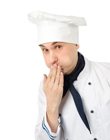 Chef. Isolated on white background Stock Photo - 13187795
