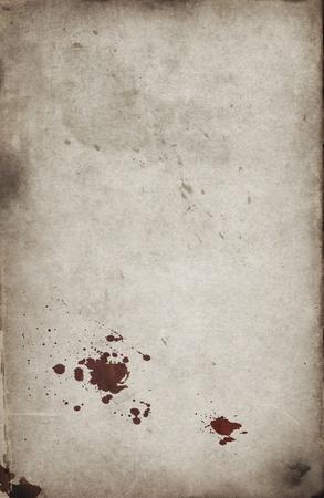 bloodstain: Blood spots on grunge background