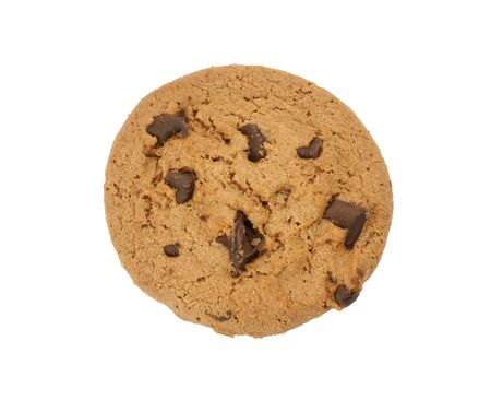 Chocolate Chip Cookie isolated photo