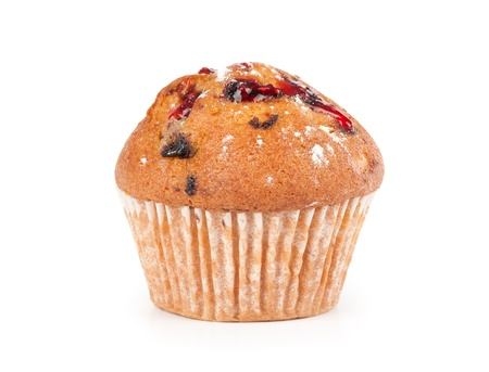 Muffin isolated on white Stock Photo - 13566403